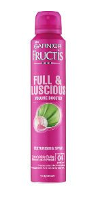 Thinning Hair Garnier Fructis Full & Luscious Volume Booster Beauty Over 40