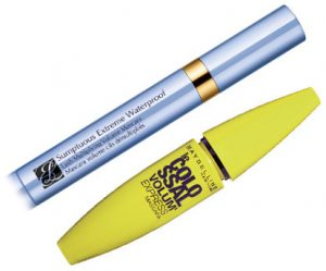 Estee Lauder Sumptuous Extreme Waterproof Mascara & Maybelline Colossal Volume express Mascara Beauty Over 40