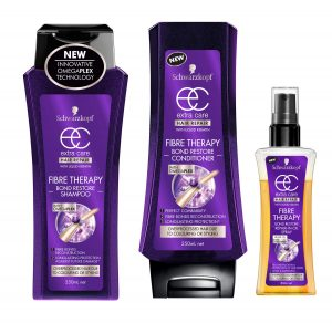 Thinning Hair Schwarzkopf Fibre Therapy Shampoo Conditioner & Repair Oil Beauty Over 40
