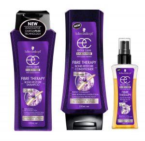 Schwarzkopf Fibre Therapy Shampoo Conditioner & Repair Oil Beauty Over 40