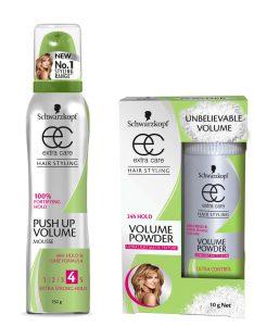 Thinning Hair Schwarzkopf Push Up Volume Mousse & Powder Beauty Over 40