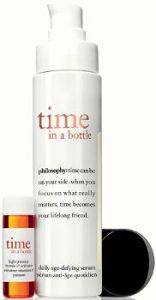 philosophy time in a bottle Beauty Over 40