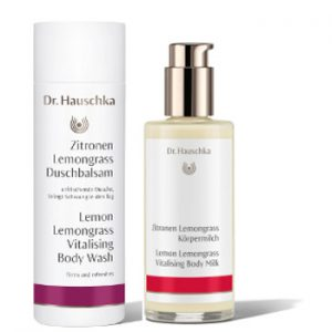 Dr. Hauschka Lemon Lemongrass Body Wash & Body Milk Beauty Over 40