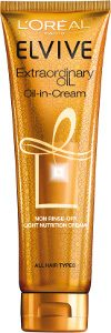 Coarse Hair L'Oreal Elvive Extraordinary Oil Oil In Cream Beauty Over 40
