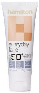 hamilton everyday face sunscreen Beauty Over 40