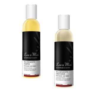 Coarse Hair Less is More Mallow Shampoo & Conditioner Beauty Over 40