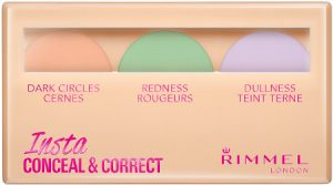 Rimmell Insta Conceal & Correct Colour Corecting Makeup Beauty Over 40