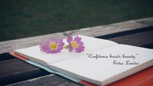 Estee Lauder Confidence Quote Beauty Over 40