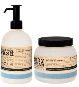 MOR Cyclamen Tuberose Hand & Body Wash & Body Cream Beauty Over 40