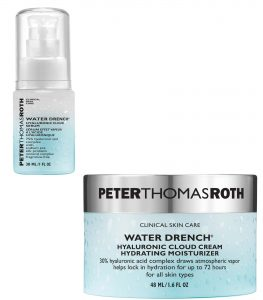 Peter Thomas Roth Hyaluronic Acid Water Drench Moisturizer and Serum Beauty Over 40
