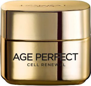 Menopausal Skincare L'Oreal age perfect cell renewal day cream Beauty Over 40