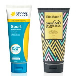 The Cancer Council & Ella Bache Sport Sunscreens SPF 50+ Beauty Over 40