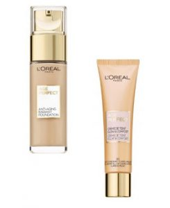 L'Oreal Paris Age Perfect Anti Aging Makeup Foundation & BB Cream Beauty Over 40