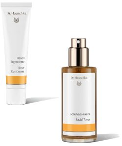 Dr hauschka Rose Day Cream & Facial Toner Beauty Over 40