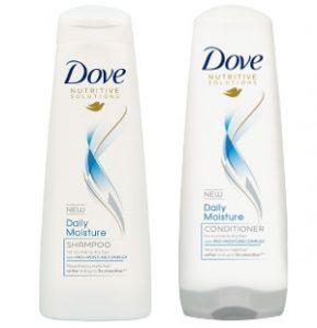 Dove Daily Moisture Shampoo & Conditioner Beauty Over 40