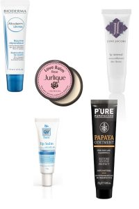 Bioderma, Jurlique Love Rose, Ego QV, P'Ure Papaya Ointment and June Jacobs Lip Renewal Lip Balm Beauty Over 40