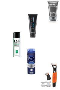Clinique Men, Nutrimetics Man, Lab Series, Nivea Men Shave Cream, Remington Pro Shaver Beauty Over 40