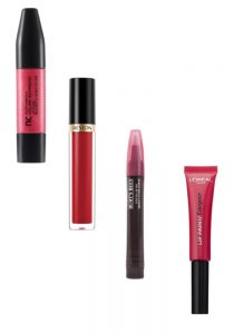 Nurtimeics & Revlon Lip Gloss, Burt's Bees Tinted Lip Oil, L'Oreal Paris Infallible Lip Paint Beauty Over 40