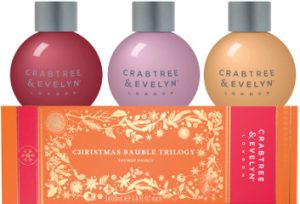 Crabtree & Evelyn Christmas Bauble Trilogy Set Beauty Over 40