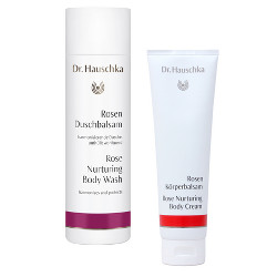 Dr. Hauschka Rose Body Wash & Body Cream Beauty Over 40
