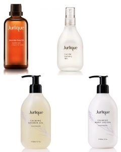 Jurlique Lavender Body Oil Hydrating Mist Shower Gel and Body Lotion Beauty Over 40