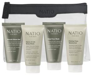 Natio for Men Travel Pack Beauty Over 40