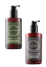 Nutrimetics Clove Leaf & Patchouli Hand 7 Body Wash and Hand & Body Lotion Christmas Beauty Over 40