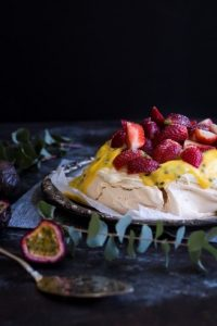 Hungry & Fussy Pavlova with Passionfruit Curd Beauty Over 40