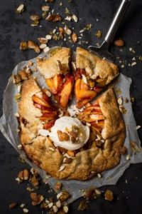 Hungry & Fussy Peach Galette Beauty over 40