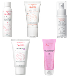 Avene Favouriye 5 Thermal Water Soothing Mask Tolerance Cream Exfoliating Gel Physiolist Eyes Beauty Over 40 Australia