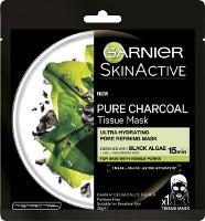 Garnier Pure Charcoal Tissue Mask with Black Algae Beauty Over 40 Australia