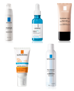 La Roche-Posay Favourite 5 Toleriane Ultra Anthelios Comfort Sunscreen Hyalu B5 Thermal Spring Water Toleriane Teint Hydrating Foundation