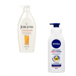 Winter Skin Body Moisturiser Jergens and Nivea Beauty Over 40 Australia