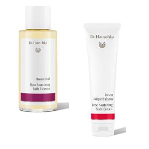 Dr Hauschka Nurturing Rose Bath Essence & Body Cream Beauty Over 40 Australia