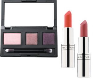Nutrimetics Colour Icon Eyeshadow & Hydra Brilliance Lipstick Beauty Over 40 Australia
