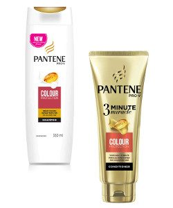 Pantene Colour Protect Shampoo & 3 Minute Miracle Conditioner Beauty Over 40 Australia
