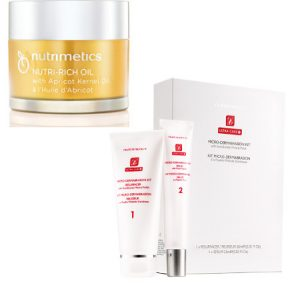 Nutrimetics Nutri Rich Oil and MicroDermabrasion Kit Beauty fit for Royalty Beauty Over 40 Australia