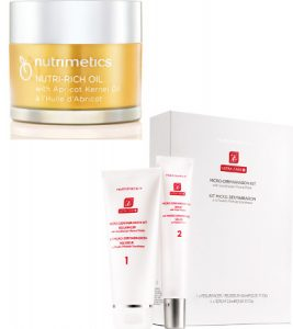 Nutrimetics Nutri-Rich Oil and Microdermabrasion Kit Beauty fit for Royalty Beauty Over 40 Australia