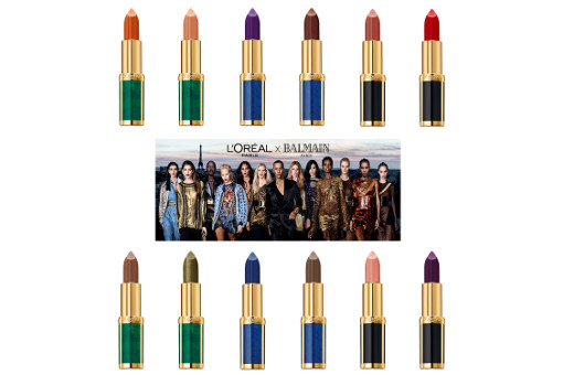 L'Oreal Paris x Balmain Limited Edition Lipstick Collection