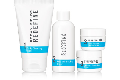 Rodan + Fields Redefine Anti Ageing Skincare Regimen