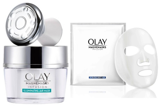Olay Magnemasks with Magnetic Infuser