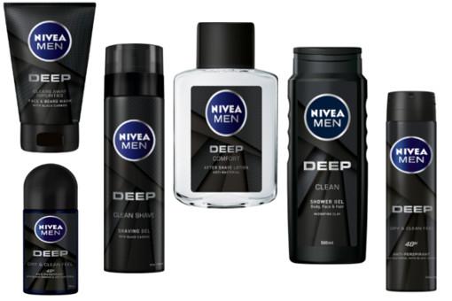 Nivea Men DEEP Range