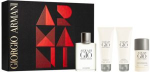 The Best Christmas Gifts for Him Armani Acqua di Gio Gift Set Beauty Over 40