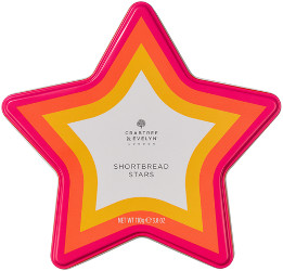 Top 10 Last Minute Christmas Gift Ideas Crabtree & Evelyn All Butter Shortbread Stars Beauty Over 40