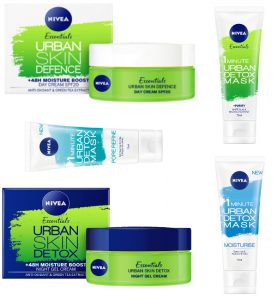 Nivea Urban Skin Skin Detox Beauty Over 40