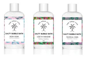 The Soak Life Salty Bubble Bath Beauty Over 40