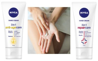 Nivea 3-in-1 Hand Creams