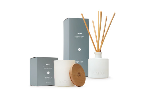 Natio Happy Home Fragrance Range
