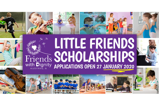 Friends with Dignity Little Friends Scholarship Program