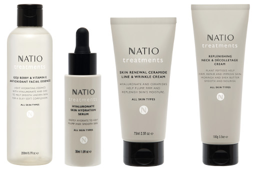 Natio Treatments Skincare Range